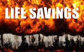 Life Savings Up In Smoke