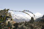Постер, плакат: Chukpilhara памятники Непал