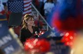Sarah Palin At Rally