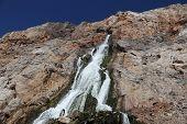 Manmade Waterfall In Gibraltar
