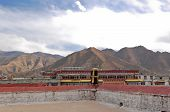 The Roof Of Jokhang Temple
