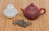Tea pot and tea pair