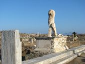Monument At Delos