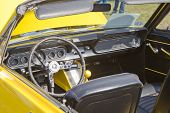 1966 Ford Mustang Chop Top Interior