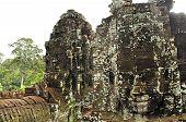 Giant Face At Bayon Temple, Angkor Wat, Cambodia