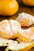 Fresh Peeled Tangerine