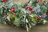 wreath in nature