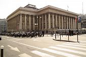 Paris Bourse Stock Exchange