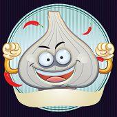 Garlic Mascot