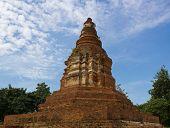 Ancient Thailand Pagoda