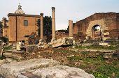 Oude Rome, het Forum Romano