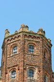 Detail of Elizabethan tower