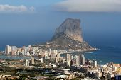 Natural Park Of Penon De Ifach Situated In Calp, Spain.