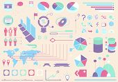 infographics collection graphic elements