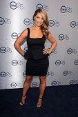 LOS ANGELES - 24 de JUL: Briga Heelan llega a la fiesta de aniversario 25 de TNT en el Beverly Hilton Ho