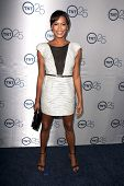 LOS ANGELES - JUL-24: Kearran Giovanni kommt auf TNT 25th Anniversary Party bei den Beverly Hilto