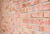 Brick Wall Perspective Texture Photo