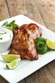 Roasted Salmon With Hoisin Glaze