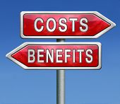 costs and benefits analysis business management investment value and analysis of financial risk cost