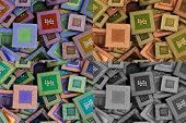 collage of different processors