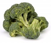 Brokkoli-Gemüse, isolated on white background