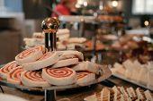 Sandwiches On High Tea Buffet