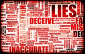 Lies and the Spreading of Fake Information