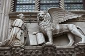 Venice. Winged Lion of St. Mark - symbol of Venice