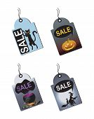 Halloween Sale Tags