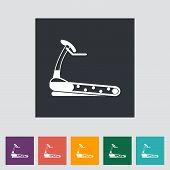 Icon Trainer Treadmill.
