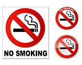 Não se pode fumar