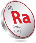 picture of radium  - radium element - JPG