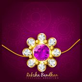 image of rakshabandhan  - beautiful indian hindu festival of rakshabandhan - JPG