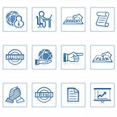 Web Icons : Global Business And Office