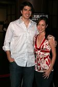LOS ANGELES - NOVEMBER 2: Brandon Routh and Courtney Ford at the Screening of