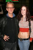LOS ANGELES - NOVEMBER 11: Andy Dick and  Wendy Maddix at the United States Premiere of