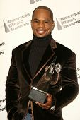 LOS ANGELES - NOVEMBER 21: Kirk Franklin in the press room at the 34th Annual American Music Awards