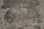 foto of dapple-grey  - Closeup view of the old stone wall - JPG