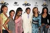 LOS ANGELES - OCTOBER 10: Nick Cannon with Claudia Jordan and friends at the birthday party for Nick