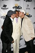 LOS ANGELES - OCTOBER 10: Jon Gurman with Nick Cannon and Marvin Gurman at the birthday party for Ni