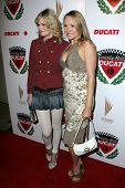 LOS ANGELES - DECEMBER 02: Nicholle Tom and Alana Curry at a party celebrating the launch of the 200