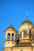 picture of ascension  - Christian church of the Ascension in Zvenigorod  - JPG
