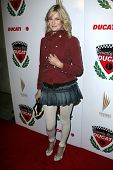 LOS ANGELES - DECEMBER 02: Nicholle Tom at a party celebrating the launch of the 2007 Ducati Apparel