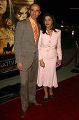 LOS ANGELES - NOVEMBER 28: Shaun Toub and Shohreh Aghdashloo at the premiere of