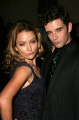 BEVERLY HILLS - NOVEMBER 29: Becki Newton and Michael Urie at the