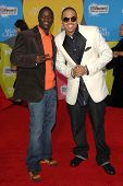 LAS VEGAS - DECEMBER 04: Akon and Chris Brown arriving at the 2006 Billboard Music Awards, MGM Grand