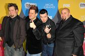 LAS VEGAS - DECEMBER 04: Bowling For Soup arriving at the 2006 Billboard Music Awards, MGM Grand Hotel December 04, 2006 in Las Vegas, NV