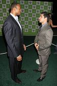 LOS ANGELES - NOVEMBER 08: Henry Simmons and Wilmer Valderrama at the 16th Annual Environmental Medi
