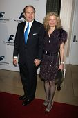Philippe Dumas and friend at the Friends of the Los Angles Free Clinic Annual Dinner Gala. Beverly H