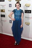 Amanda Seyfried at the 18th Annual Critics' Choice Movie Awards Arrivals, Barker Hangar, Santa Monica, CA 01-10-13